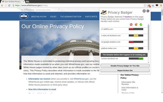 Remove your browser fingerprint
